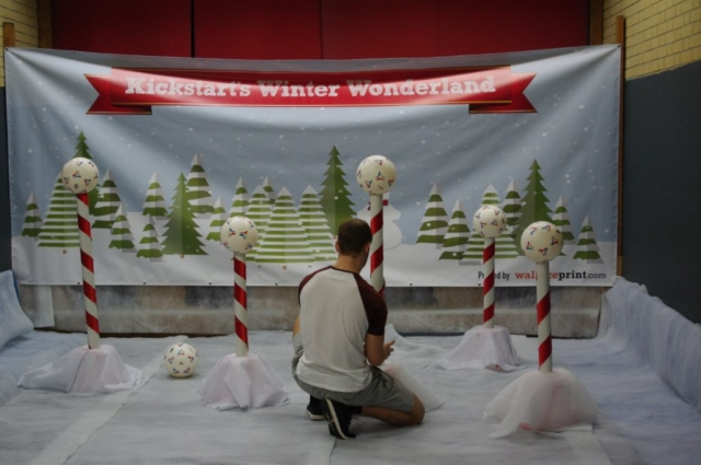 Football Shy at Winter Wonderland