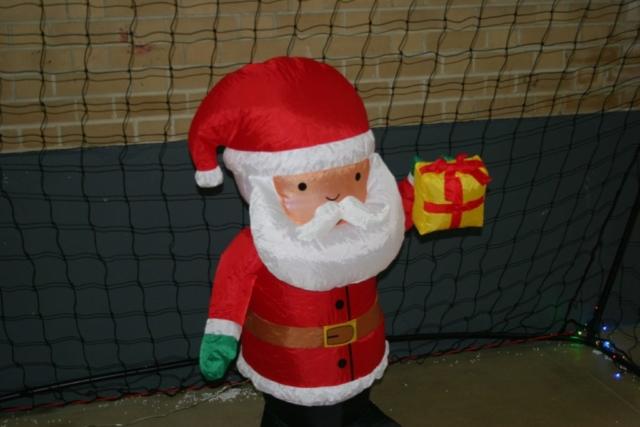 Santa Goalie