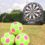 Kickstart's Inflatable Football Darts!